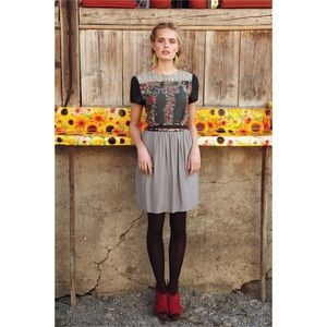 Anthropologie Ailanto Agnita Dress RARE size 8